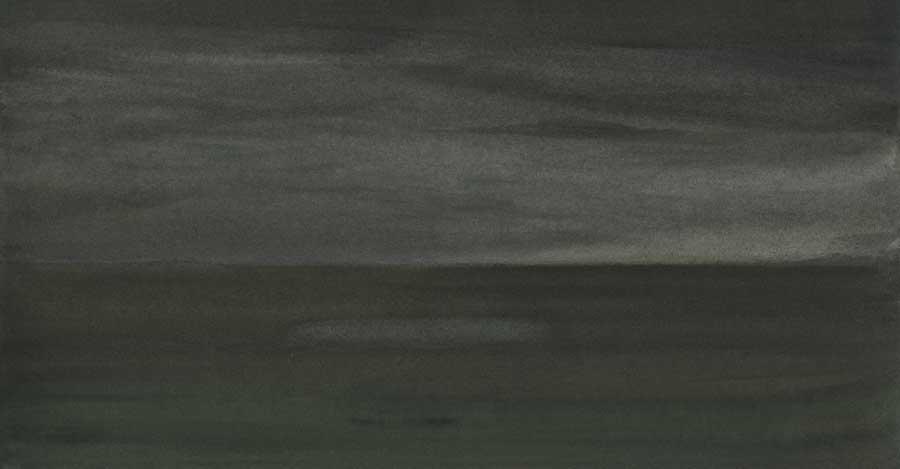 Crépuscule, encres sur papier, ht18 x 26 cm