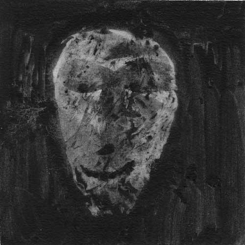 Fantôme, graphite sur papier, 15 x 15 cm