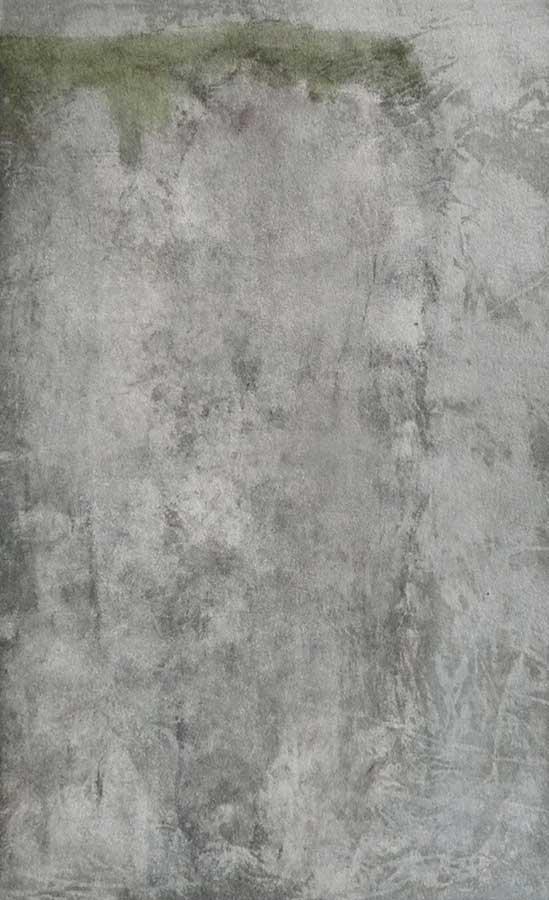 Falaise d'été, encres sur papier, ht 26 x 18 cm